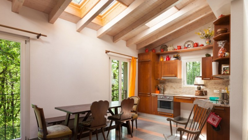 Install skylights to reduce electricity cost during daylight