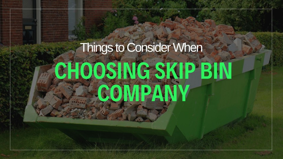 Proven tips before choosing skip hire company - Neutrino Burst!