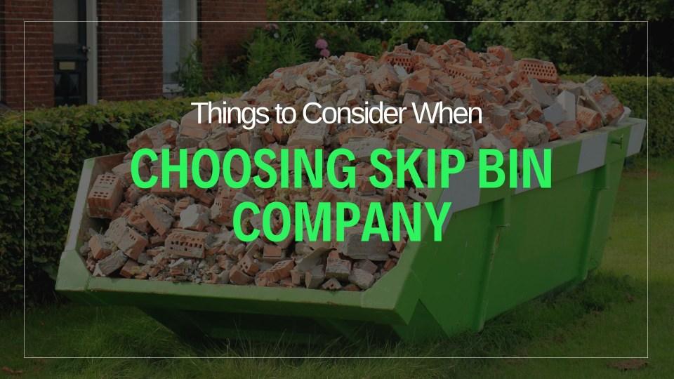 Proven tips before choosing skip hire company - Neutrino Burst!