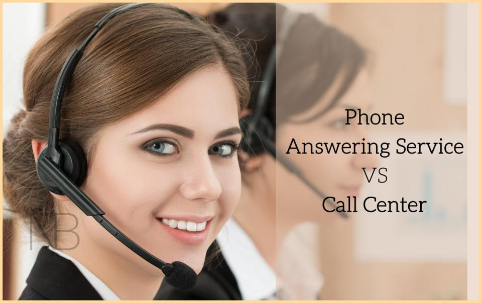 Difference between phone answering service and call center - Neutrino Burst!