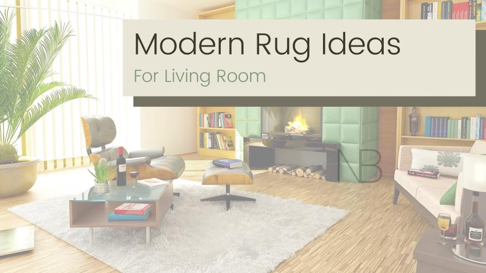 Modern rug ideas for your living room - Neutrino Burst!