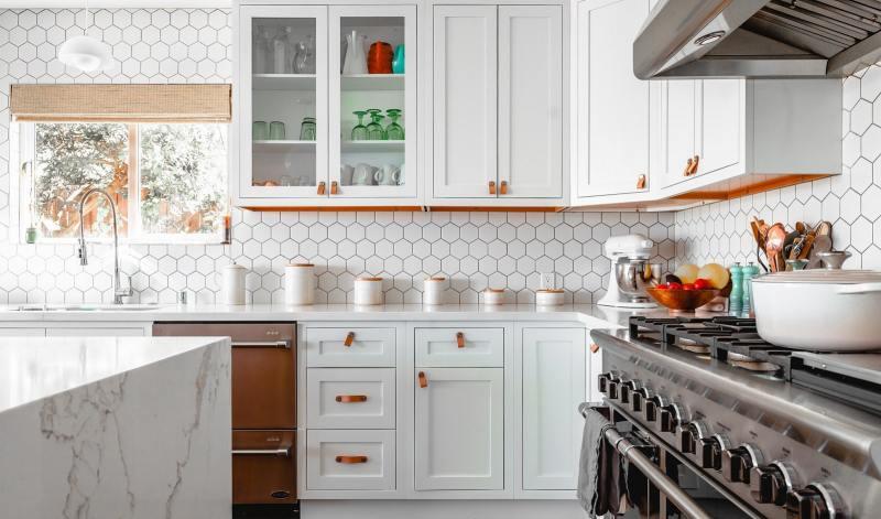 Feng Shui kitchen color orange