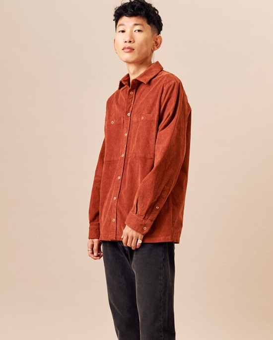 Corduroy Work Shirt - Kotn