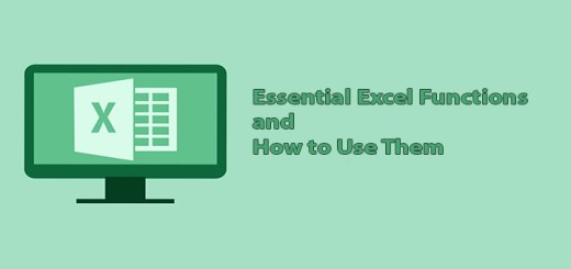 Essential Excel Functions and How to Use Them
