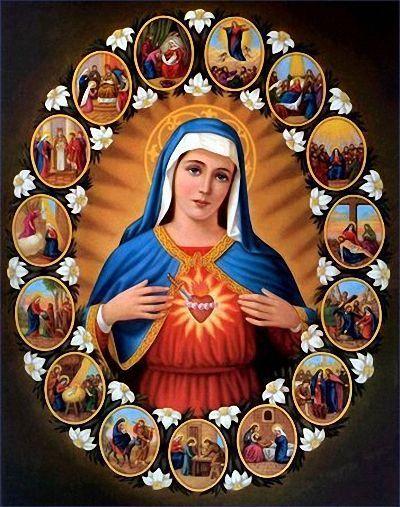 Notre Dame Des 7 Douleurs : notre, douleurs, Neuvaine, Notre, Sept-Douleurs