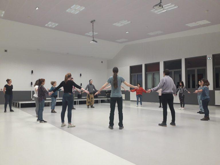 ateliers theatre pour les étudiants