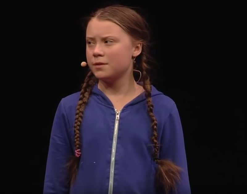 Climate Change Activist Greta Thurnberg Gives Passionate Call For Action