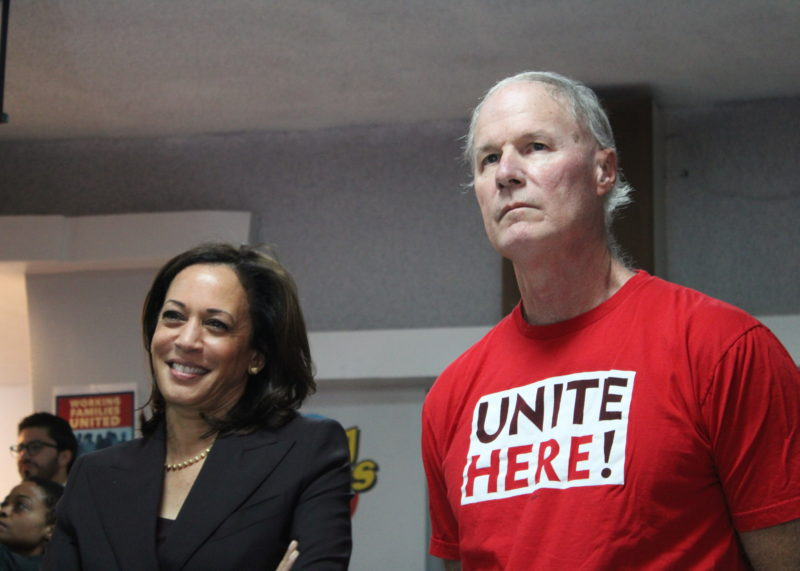 """""""We Make It Possible"""": Kamala Harris Urges Culinary Union Members to Think Bigger During Their Town Hall"""