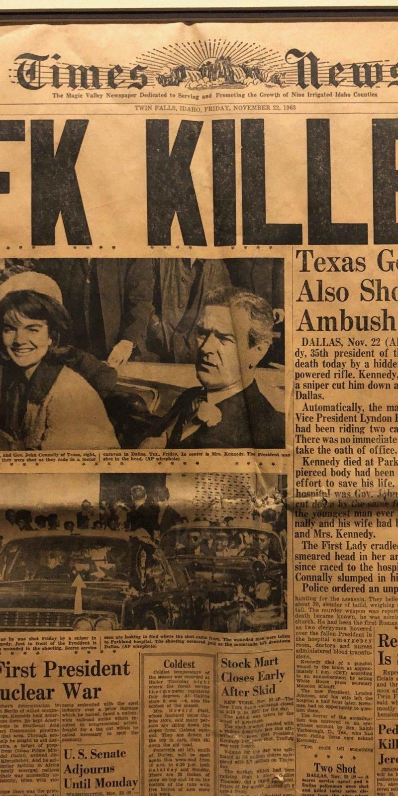 Remembering November 22, 1963