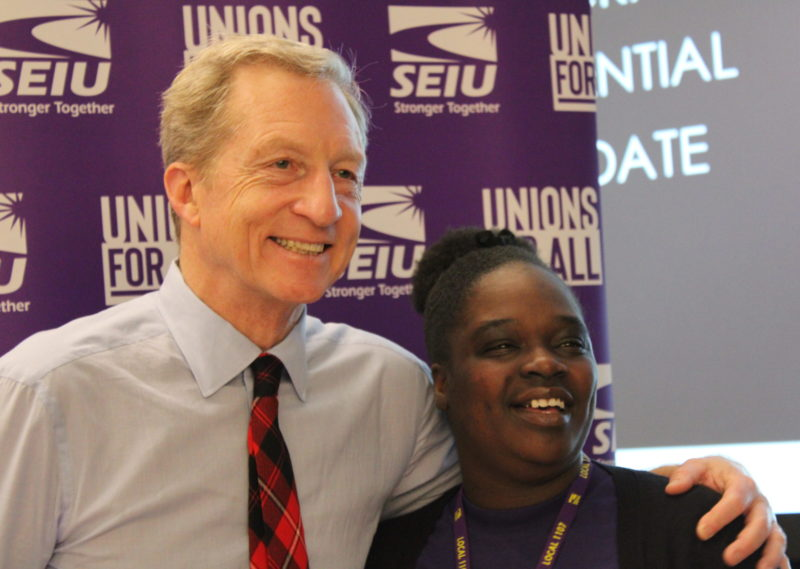 "At SEIU 1107's ""Unions for All"" Summit, 2020 Presidential Candidates Got a Crash Course on What Matters to Nevada Workers"