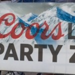 Coors-Light-Party-Zone-Sign-1