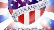 Veterans Day Heart Design