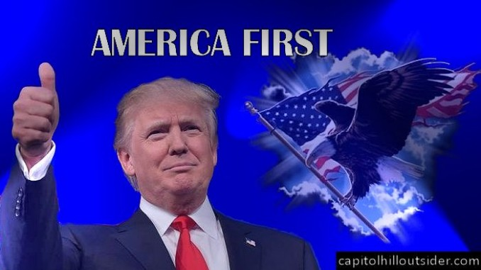 Image result for Trump's America First