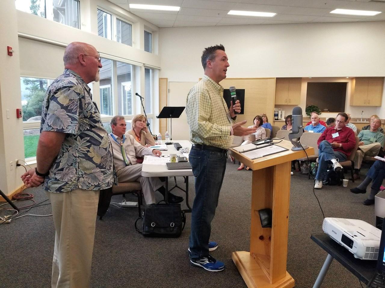 David Dendy Speaks to Presbytery
