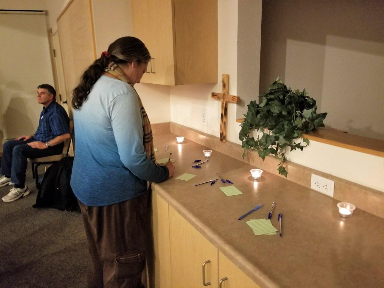 Presbytery Worship Writes Hopes and Forgiveness
