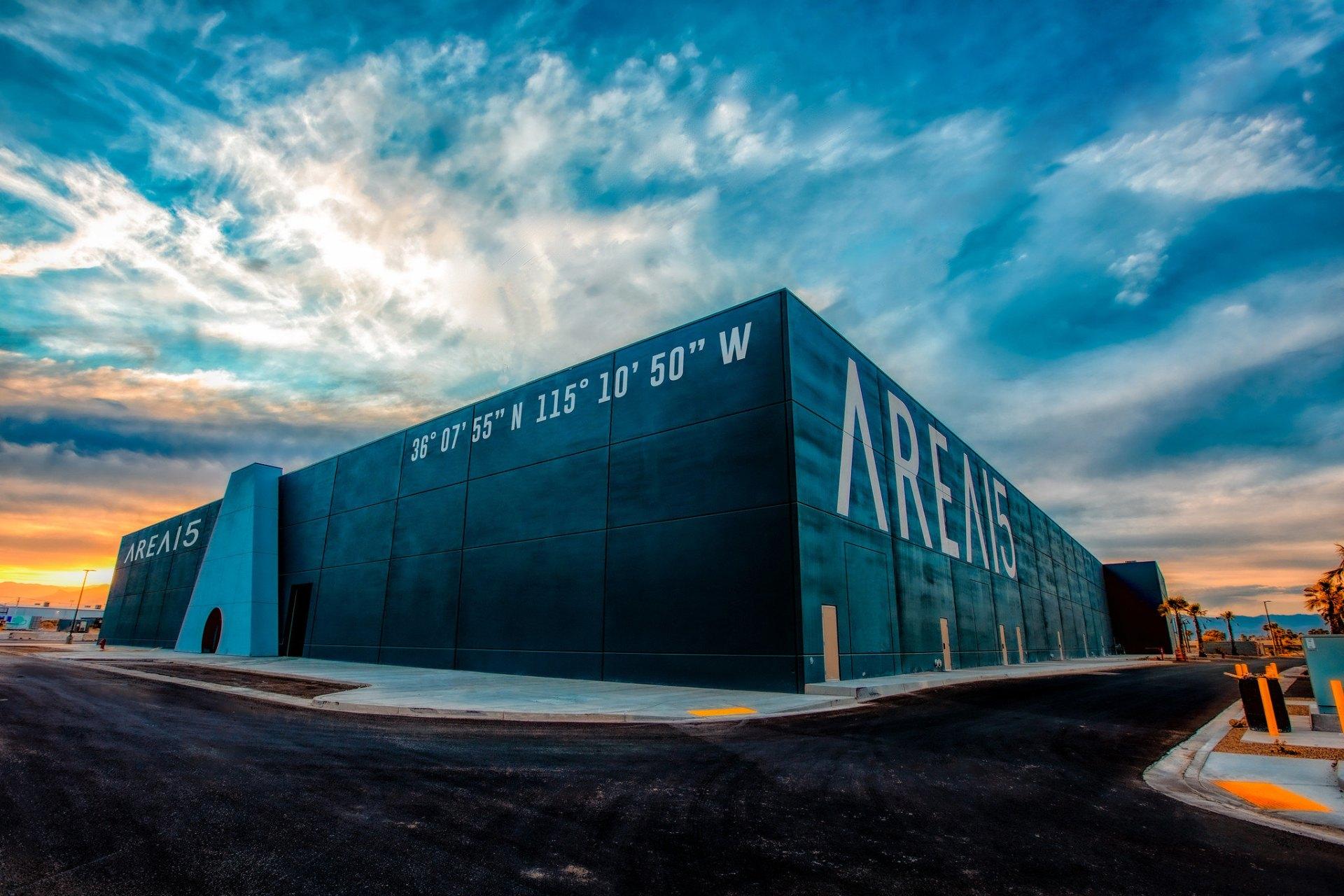 Area 15 exterior. Image: Laurent Velazquez.