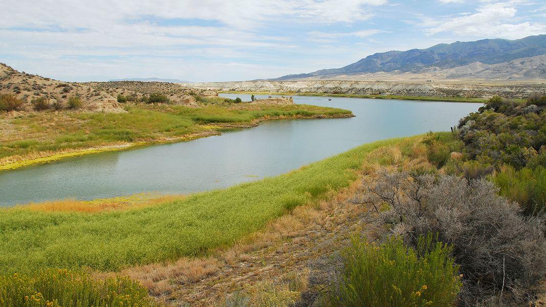 IMAGE: Rye Patch Reservoir, courtesy Nevada State Parks.