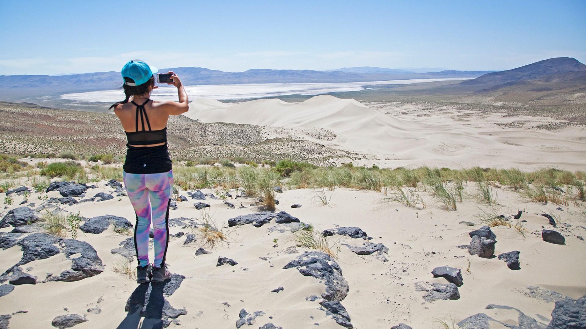 Image: Sand Mountain Recreation Area, courtesy of Travel Nevada.