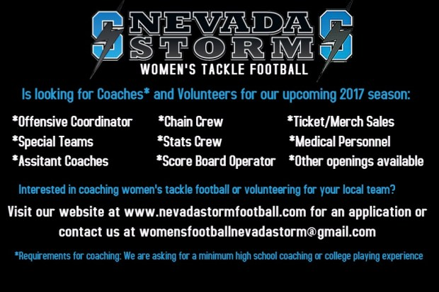 Coaching Volunteer Flyer