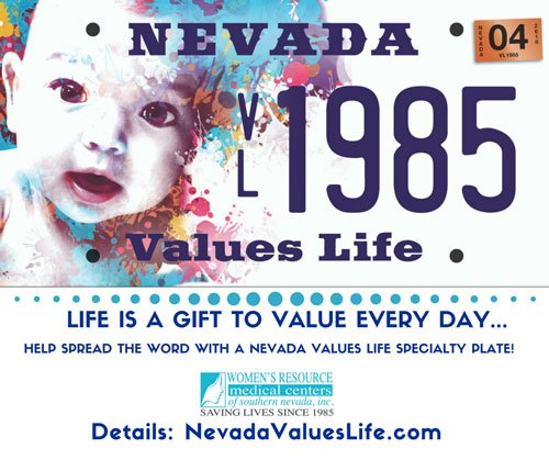 Everyday is a gift NV Values Life