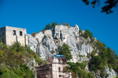 Stijena i ruševine Starog grada