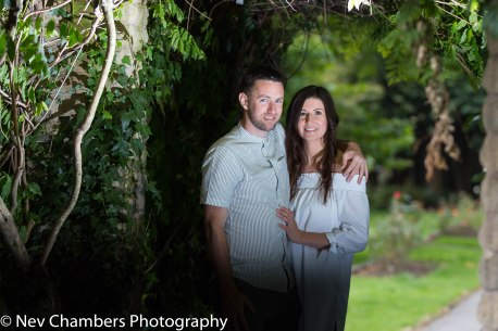 Hunmanby North Yorkshire, couples photoshoot, archway, love, woods, natural, beautiful, together, Nev Chambers Photography