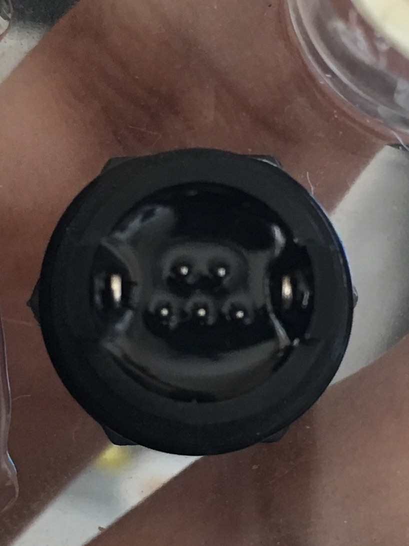 hight resolution of connector rear pins
