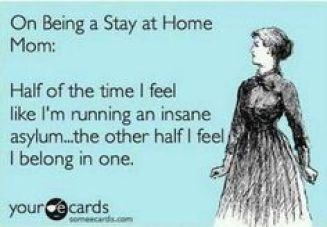 Being a stay at home mom meme | neveralonemom.com