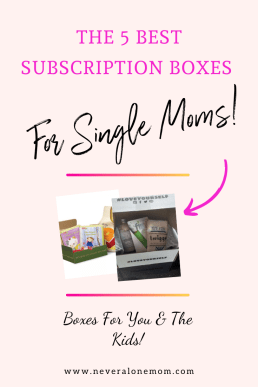 The 5 best subscription boxes for single moms |neveralonemom.com