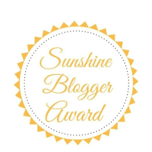 Sunshine Blogger Award | neveralonemom.com