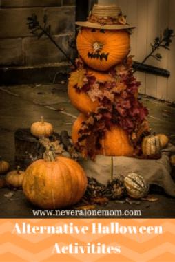 Alternative Halloween activities! | neveralonemom.com