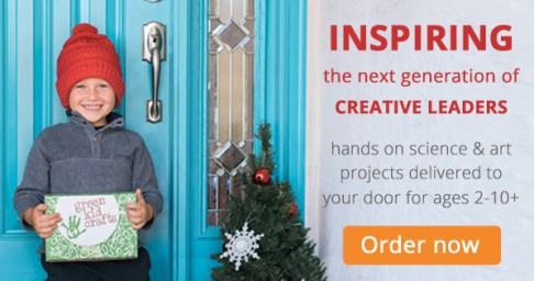 Green Kid Crafts | neveralonemom.com