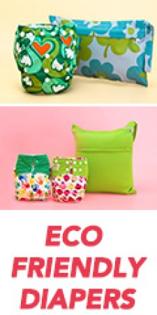 eco-freindly reusable diapers picture | neveralonemom.com