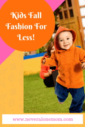 Kids clothes for single moms shopping on a budget! | neveralonemom.com