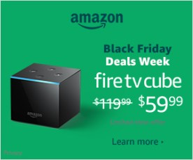 Amazon Fire TV Cube | neveralonemom.com