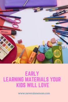 Early learning materials and worksheets for kids! |neveralonemom.com