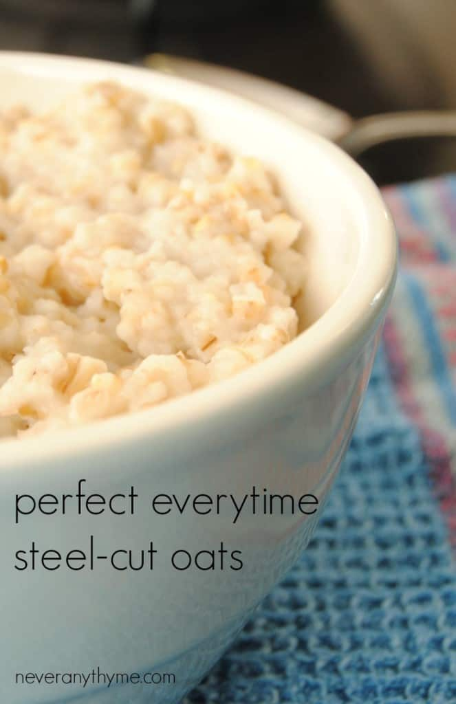 Make steel cut oats perfectly every time with this easy, no-boil over method. Perfect for a make-ahead breakfast or to feed a crowd