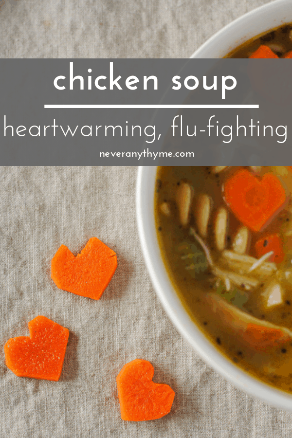chicken soup to warm your heart