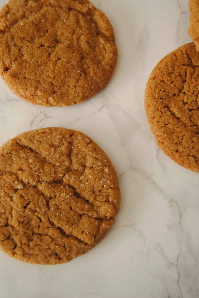 Ginger Christmas cookies | neveranythyme.com