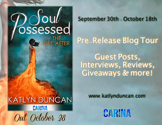 Soul Possessed by Katlyn Duncan Pre-Release Blog Tour & Review