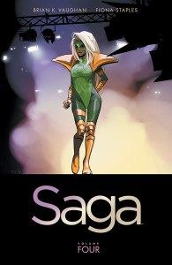 Review: Saga Volume 4 by Brian K. Vaughan