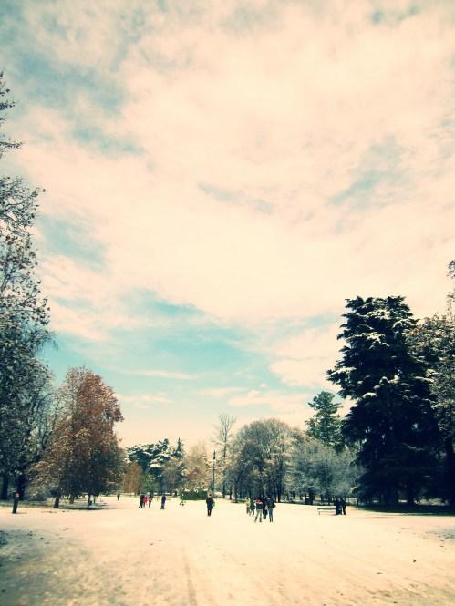 Inverno no Parco Sempione