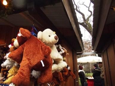 Ursinhos no Christmas Market da Rathausplatz