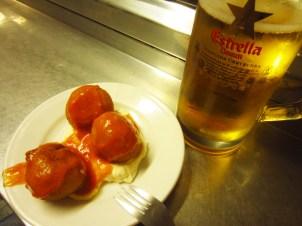 Delicious bombas at Bar Celta