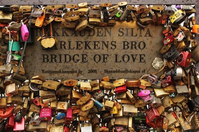 Bridge of Love - Helsinki, Finland