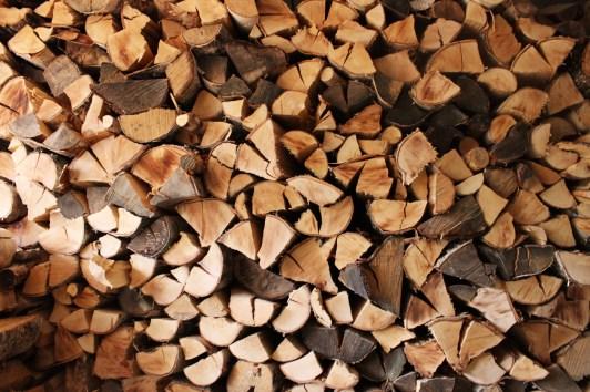 Firewood stock - Hauho, Finland