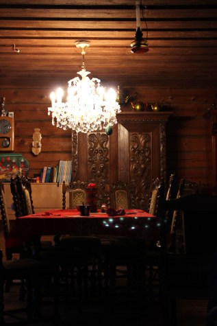 Inside the traditional Finnish house - Hauho, Finland (1)