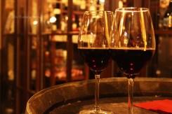 Wine at Tabarro 1 - Parma, Italy