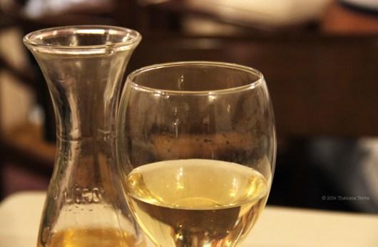 Frascati wine - Il Duca (Trastevere, Rome)