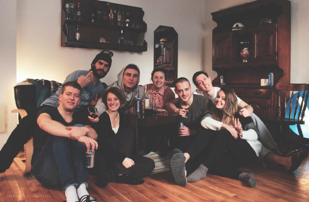 Belgrade: Sunset and friends (7)